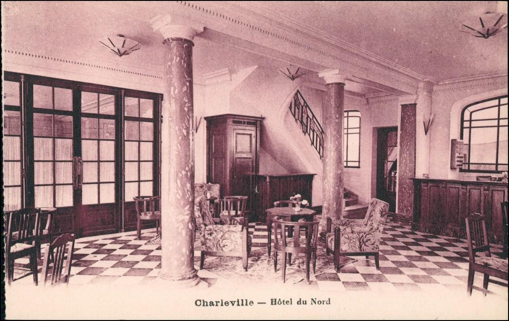 Charleville-Mézières Charleville-Mézières Hotel du Nord - Innen 1924 0