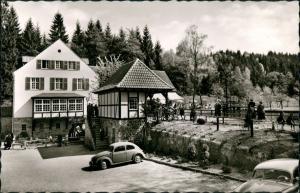 Leopoldstal-Horn-Bad Meinberg Waldhotel Pension Restaurant Silbermühle   1963