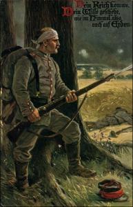 Militär Soldaten Kunst-AK
