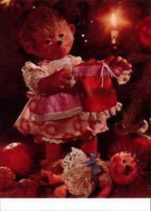 Ansichtskarte  Mecki (Diehl-Film): Weihnachten Puppenkleid Geschenke 2010