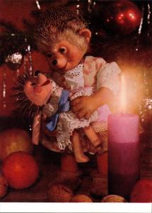 Mecki (Diehl-Film): Frohes Fest, neues Jahr, Puppe Weihnachtsbaum 1970