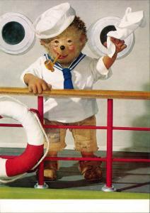 Ansichtskarte  Mecki (Diehl-Film): Seemann Schiff Abschied 1970