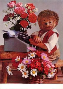 Mecki (Diehl-Film): Glückwunsche Blumensträuße Schreibmaschine 1970