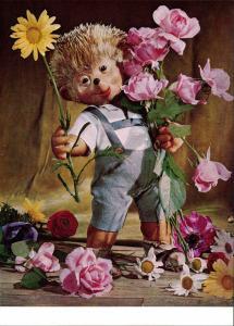 Mecki (Diehl-Film): Blumen schenken, Herzlichen Glückwunsch 1970