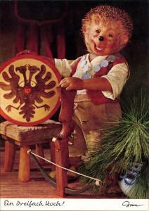 Mecki (Diehl-Film): Ein dreifach Hoch! Schützenfest, Armbrust Zielschießen 1970