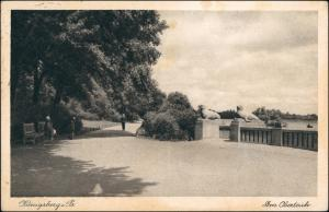 Königsberg (Ostpreußen) Калининград Am Oberteich 1930