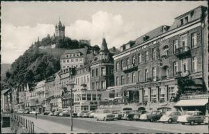 Cochem Kochem Moselstraße div. Autos ua. Auto Volkswagen VW Käfer 1960