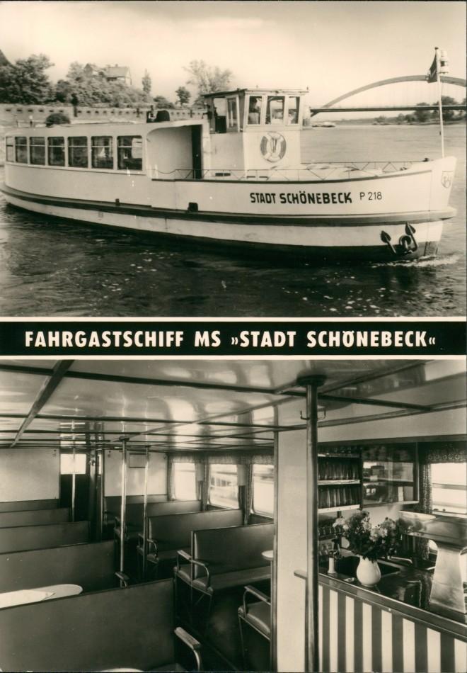 Magdeburg DDR Schiff