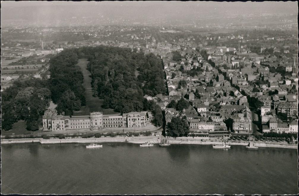 Biebrich-Wiesbaden Luftbild Überflug Wiesbaden Stadtteil-Ansicht 1953 0