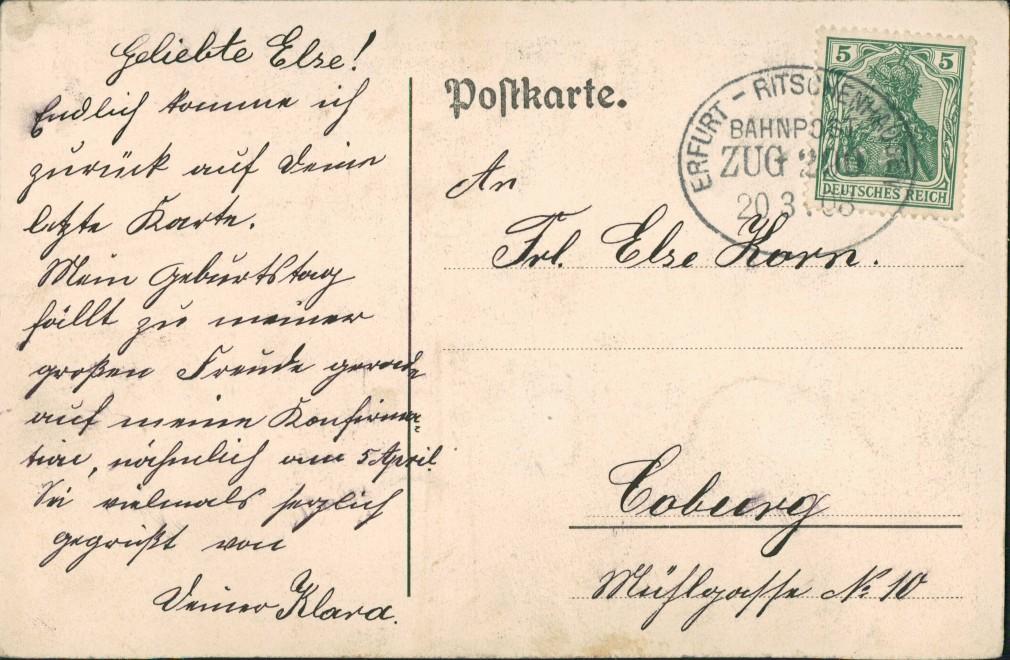 Ansichtskarte München 2 Bild Denkmal Gabelsberg 1908 1