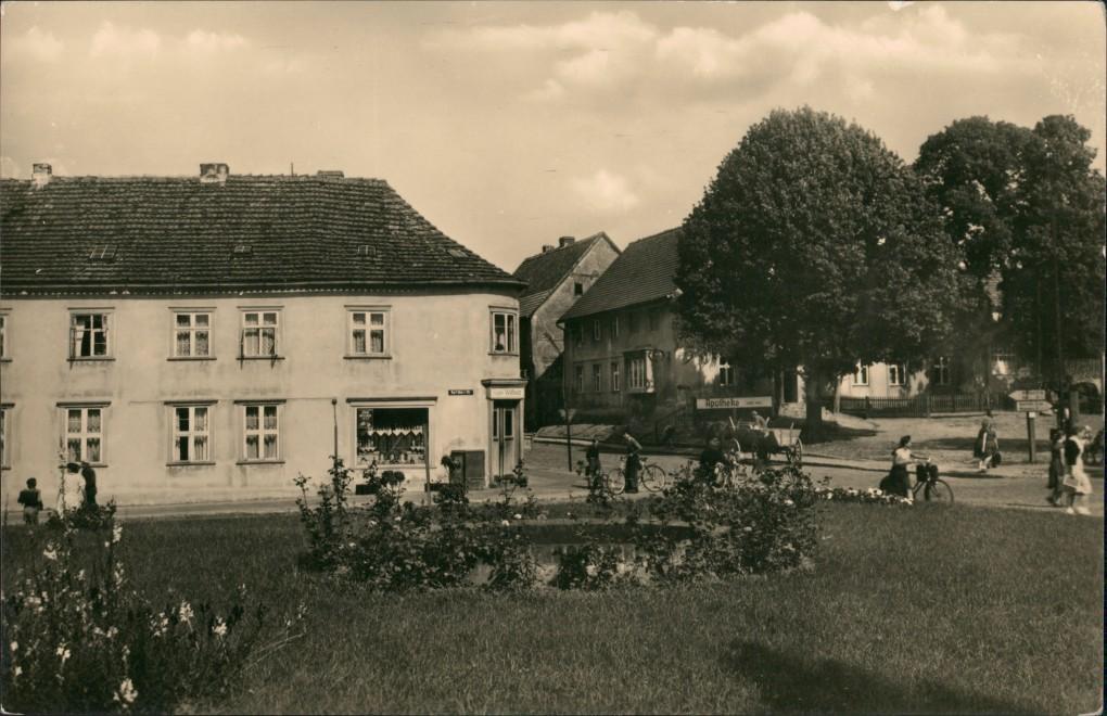 Ansichtskarte Mirow Straßenpartie 1961 0