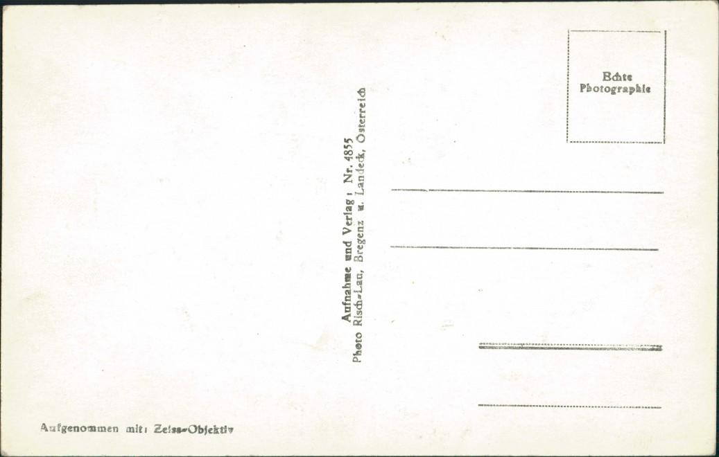 Ansichtskarte  Gemsennest 1932 1