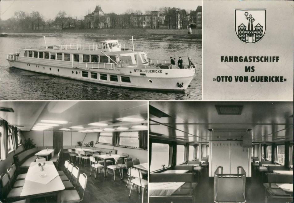 Altstadt-Magdeburg 3 Bild Fahrgastschiff MS Otto von Guericke 1975 0