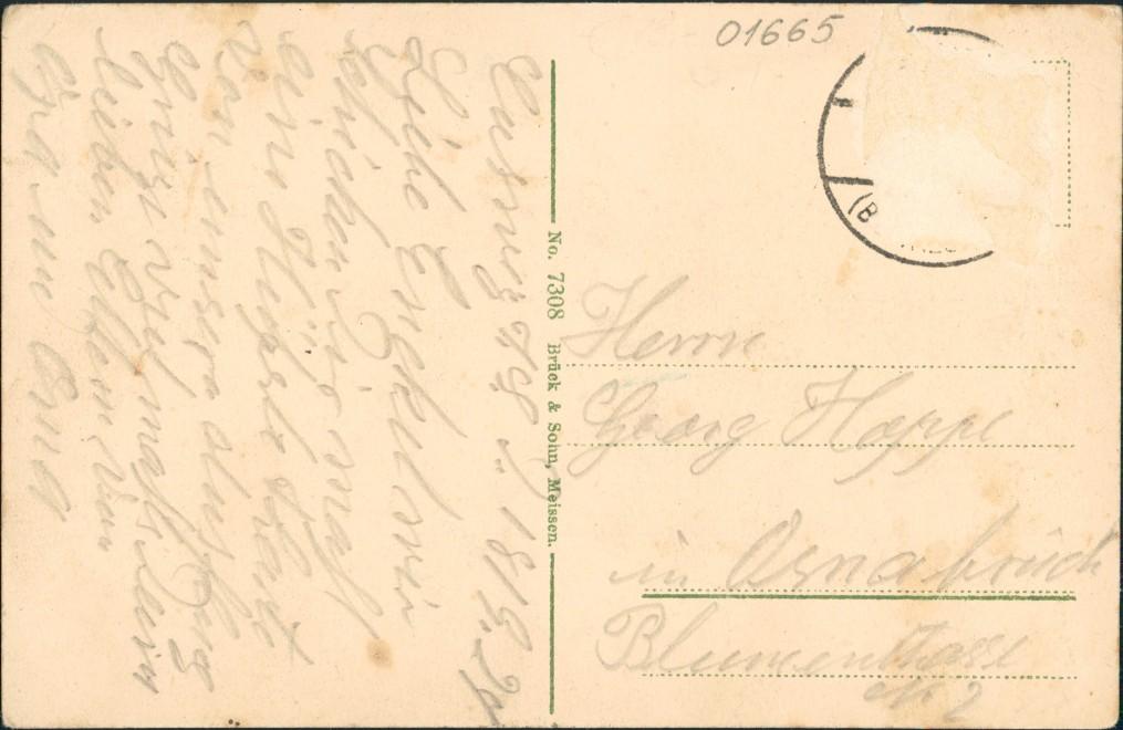 Ansichtskarte Gauernitz-Klipphausen Herrschaftlicher Gasthof 1911 1