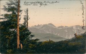 Postcard Zakopane Widok Nosala 1915