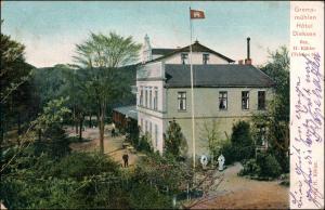 Ansichtskarte Bad Malente-Gremsmühlen-Malente Hotel Dieksee 1905