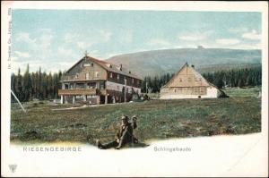 Postcard Krummhübel Karpacz Schlingelbaude Rübezahl 1904