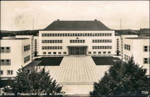 Postcard Köslin Koszalin Preussiches Land- und Amtsgericht 1937