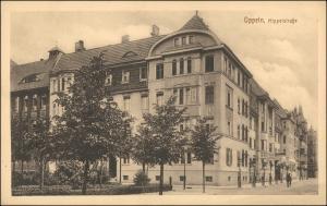 Postcard Oppeln Opole Hippelstraße 1922