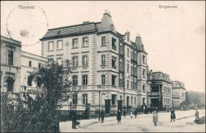 Postcard Haynau Chojnów Bergstraße 1908