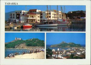 Tabarka Ṭabarqa طبرقة Porto Corallo Hafen Mehrbild-AK 3 Fotos 2000