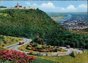 Ansichtskarte Wien Panorama-Ansicht Höhenstrasse 1964