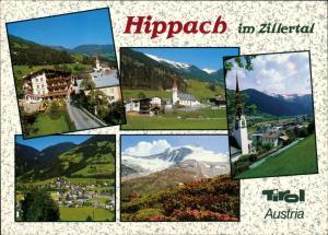 Hippach 5 Echtfoto-Ansichten, Teilansichten Zillertal Tirol 1990