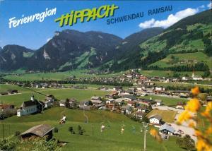 Ansichtskarte Hippach Ferienregion Schwendau-Ramsau Zillertal / Tirol 1990