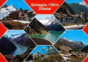 .Tirol Alpen Ansichten Schlegeis Zillertal Krafthaus Mayrhofen uvm. 1990