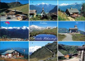 Ansichtskarte .Tirol Grüsse Zillertaler Höhenstrasse MB-AK 9 Ansichten 1990
