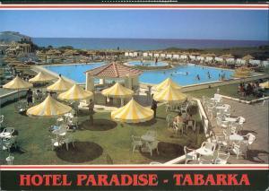 Tabarka Ṭabarqa طبرقة Hotel Paradise, Pool, Meerblick 2000