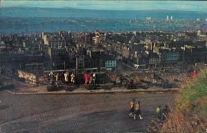 Postcard Edinburg Dùn Èideann Panorama Ansicht Panoramic View 1970