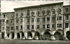 Wasserburg am Inn Wasserburg a. Inn Altes Patrizier-Haus, Kernhaus, Autos ua. Volkswagen VW Käfer 1966