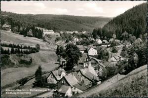 Torfhaus (Harz)-Altenau Rothenberger Straße und Siedlung Silberhütte 1960