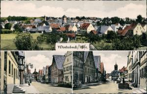 Ansichtskarte Windsbach Mehrbild-AK 3 Echtfoto Dorf-Ansichten 1960