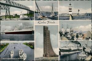 Kiel MB-AK Kieler Woche, Leuchtturm, Hafen Schiffe, Schleuse Kanal, uvm. 1962