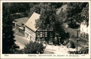Ansichtskarte Saupsdorf-Sebnitz Räumichtmühle 1940 Walter Hahn:11692