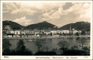 Ansichtskarte Bad Schandau Stadt und Fähren 1940 Walter Hahn:11576