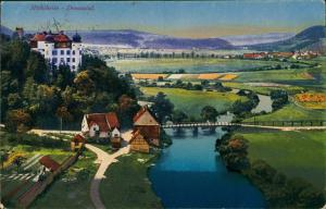 Mühlheim an der Donau Donautal mit Schloss Mühlheim Donau Panorama 1920