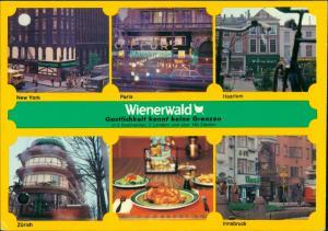 Ansichtskarte Innsbruck Wienerwald Zürich New York 1971