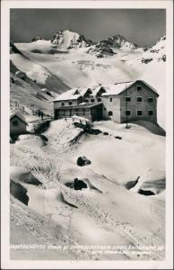 Ansichtskarte Galtür Jamtalhütte im Winter 1939