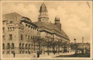 Ansichtskarte Innere Altstadt-Dresden Ringstraße 1909