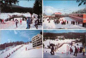 Postcard Sarajevo 4 Ansichten Wintersport Olympische Winterspiele 1984