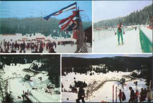 Sarajevo Sport - Wintersport Olympische Winterspiele Mehrbild-AK 1984