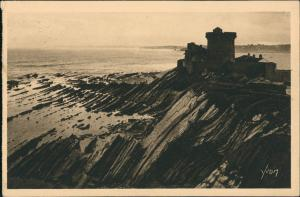 CPA St-Jean-de-Luz Le Fort du Socoa 1933