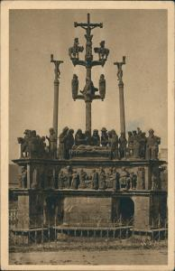 CPA Plougastel-Daoulas La Calvaire 1933