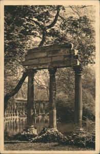CPA Paris Stadtteilansicht Parc Monceau Park 1930