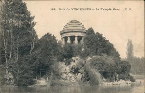 CPA Vincennes Bois de VINCENNES Le Temple Gvec, Tempel Ansicht 1907
