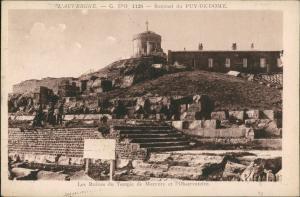 Verrières (Puy-de-Dôme) L' AUVERGNE Sommet du PUY-DE-DOME 1920
