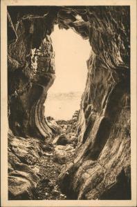 CPA .Frankreich Perros-Guirec Grotte de Trestrignel 1925